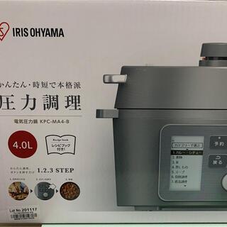 アイリスオーヤマ 電気圧力鍋 4l KPC-MA4-B 4.0L【新品未開封】