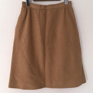 Lochie - Made in USA ウールスカート(brown)