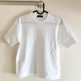 ドゥロワー(Drawer)のDrawer 白Tシャツ(Tシャツ(半袖/袖なし))