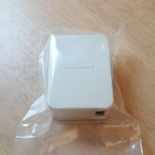 エヌティティドコモ(NTTdocomo)の充電 アダプター ドコモ 純正 usb  充電器 充電コード(バッテリー/充電器)