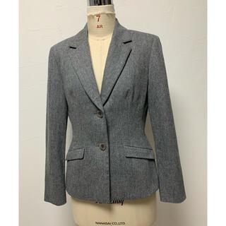 アナイ(ANAYI)のANAYI アナイ テーラードジャケット スーツ グレー M(テーラードジャケット)