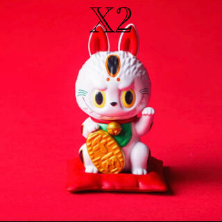 カイヨウドウ(海洋堂)の【新品未開封】labubu maneki 招き猫 ラブブ(キャラクターグッズ)
