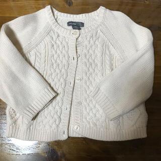 ベビーギャップ(babyGAP)のbaby GAP ニットの羽織もの 80サイズ 美品♪  (ニット/セーター)