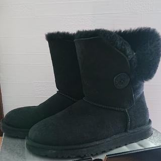 アグ(UGG)のUGG ブーツ 黒(ブーツ)