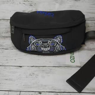 ケンゾー(KENZO)のKENZO ボディーバッグ 刺繍 ブルー 19ss 新品未使用(ボディバッグ/ウエストポーチ)