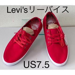 リーバイス(Levi's)の正規【未使用】Levi's/リーバイスメンズスニーカー/25.5cm/US7.5(スニーカー)