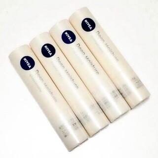 ニベア - ニベア ディープモイスチャー リップクリーム 無香料 4本セット 未使用