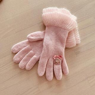 ファミリア(familiar)のSoleilさま☆ファミリア140手袋☆(手袋)