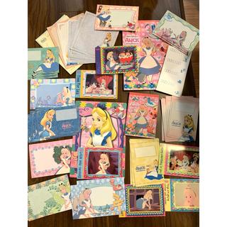 ディズニー(Disney)のディズニー 不思議の国のアリス ステーショナリー おすそ分け レターセット(カード/レター/ラッピング)