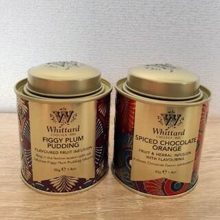 Whittard ウィッタード チョコレートオレンジ イチジクプラムプディング(茶)