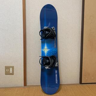 17日更新!ジュニアスノーボード 板118cm バインディングIGNIO(ボード)