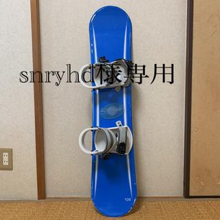 ジュニアスノーボード 板108cm 要補修(ボード)