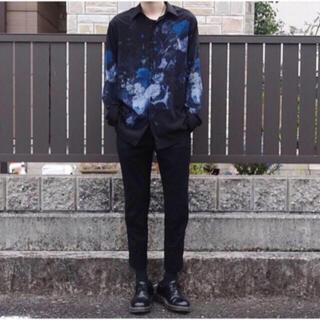 LAD MUSICIAN - LADMUSICIAN 花柄 スタンダードシャツ