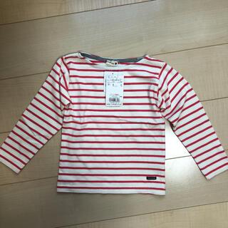 ブランシェス(Branshes)の新品 ブランシェス ボーダートップス 110cm(Tシャツ/カットソー)