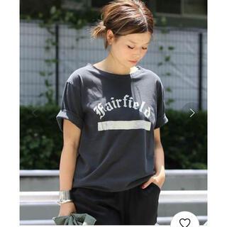 DEUXIEME CLASSE - 美品 Deuxieme Classe プリントTシャツ