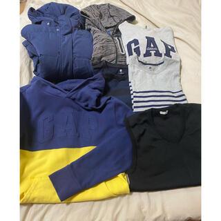 ギャップ(GAP)の子供服 まとめ売り GAP GU UNIQLO 6点&スクールベスト(その他)