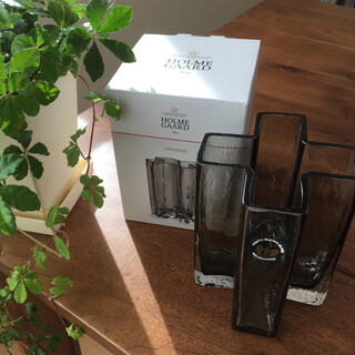 アクタス(ACTUS)のアクタス HOLMEGAARD クロスベース【新品・未使用】(花瓶)