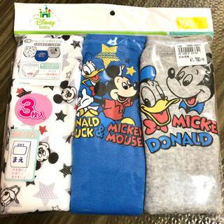 ディズニー(Disney)のディズニー トレーニングパンツ ミッキー ドナルド 100cm(トレーニングパンツ)
