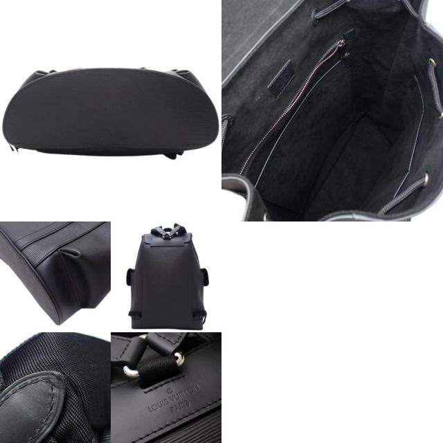 LOUIS VUITTON(ルイヴィトン)のルイ・ヴィトン クリストファー PM エピ ブラック黒 40800065075 メンズのバッグ(バッグパック/リュック)の商品写真