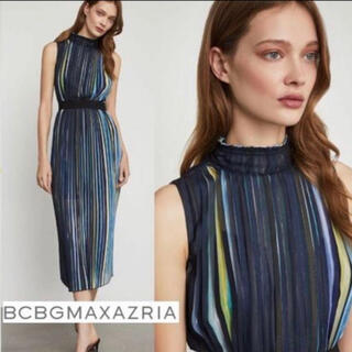 BCBGMAXAZRIA - ❤️   BCBGMAXAZRIA 2020新作新品 ブルーワンピース結婚式