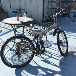 【砂浜様専用】折り畳み マウンテンバイク(自転車本体)