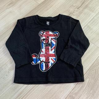 グラニフ(Design Tshirts Store graniph)のグラニフ コントロールベア ロンT  100cm (Tシャツ/カットソー)