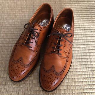 Crockett&Jones - クロケットジョーンズ ウイングチップ 革靴
