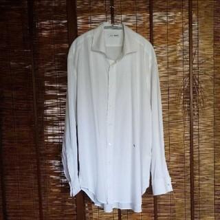 Jil Sander - our legacy アワーレガシー シャツ 白シャツ 刺繍 コットンシャツ