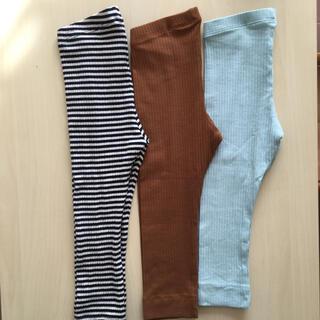 H&M リブレギンス ベビー服 まとめ売り 90