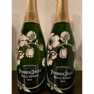 ★ペリエジュエ ベルエポック2本 2012年★新品、送料込み(シャンパン/スパークリングワイン)