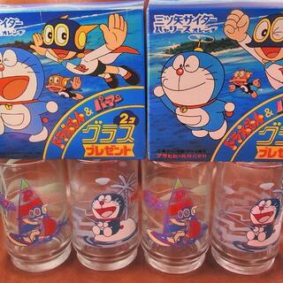 箱付き 三ツ矢サイダー&バヤリース ドラえもん&パーマン 2箱セット(グラス/カップ)