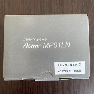 エヌイーシー(NEC)の★新品 NEC モバイルルーター(ポケットWi-Fi) MP01LN(PC周辺機器)