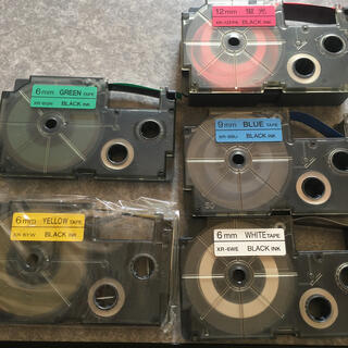 CASIOネームランドテープ5個