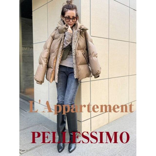 L'Appartement PELLESSIMO 2way ダウンジャケット