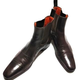 サントーニ(Santoni)のSantoni チェルシーブーツ   サイドゴア  7,5(ブーツ)