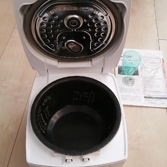 三菱(ミツビシ)の美品!三菱IHジャー炊飯器 スマホ/家電/カメラの調理家電(炊飯器)の商品写真