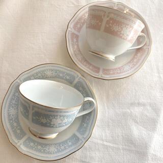 ノリタケ(Noritake)のノリタケ ペア ティーカップ&ソーサー (食器)