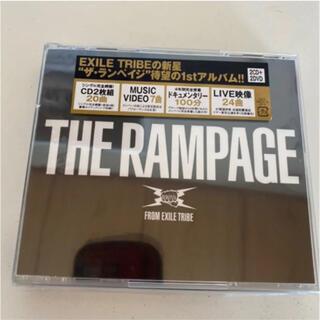 ザランページ(THE RAMPAGE)のTHE RAMPAGE アルバム 2CD+2DVD(ポップス/ロック(邦楽))