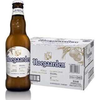 コストコ(コストコ)のヒューガルデンホワイト ベルギー 330ml×24本 21.2/〓YBC(ビール)