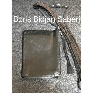 【再値下げ】Boris Bidjan Saberi   ネックウォレット【レア】(折り財布)