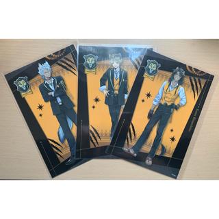ディズニー(Disney)のツイステ ポストカード レオナ ラギー ジャック サバナクロー(写真/ポストカード)