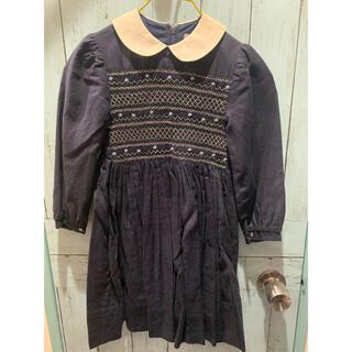 ボンポワン(Bonpoint)の子供服 ワンピース チュニック紺 ボンポワン(ワンピース)
