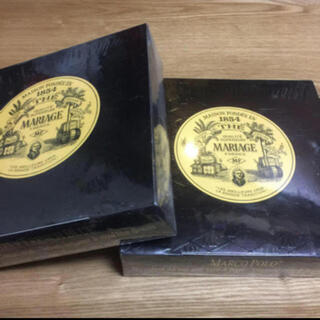 2箱セット♦︎ マリアージュフレール マルコポーロ &アールグレイフレンチブルー(茶)