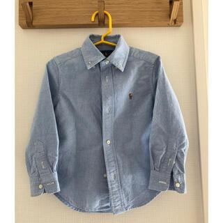 ラルフローレン(Ralph Lauren)の美品 ラルフローレン キッズ長袖シャツ 100センチ(ブラウス)