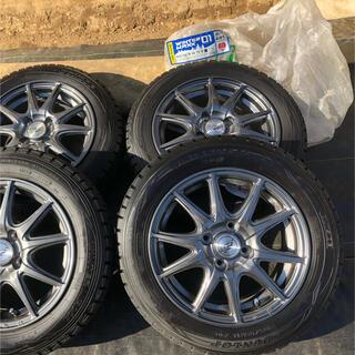 ダンロップ(DUNLOP)のスタッドレスタイヤ ダンロップ 165/65R14 (タイヤ・ホイールセット)