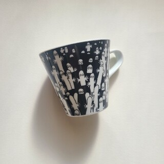 アラビア(ARABIA)のムーミン マグカップ ニョロニョロ(グラス/カップ)