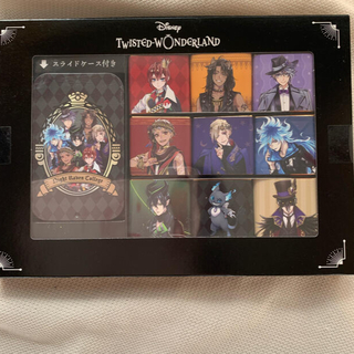 ディズニー(Disney)のツイステ スライドケース 付きチョコセット(菓子/デザート)