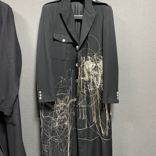 Yohji Yamamoto - 19AW ヨウジヤマモト オム 羊ト蝙蝠二面刺繍JKT コート