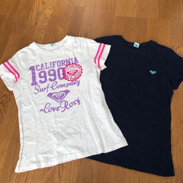 Roxy(ロキシー)のROXY Tシャツ 2枚セット レディースのトップス(Tシャツ(半袖/袖なし))の商品写真