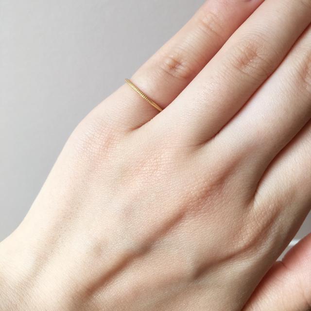 ete(エテ)のete☆ピンキーリング レディースのアクセサリー(リング(指輪))の商品写真
